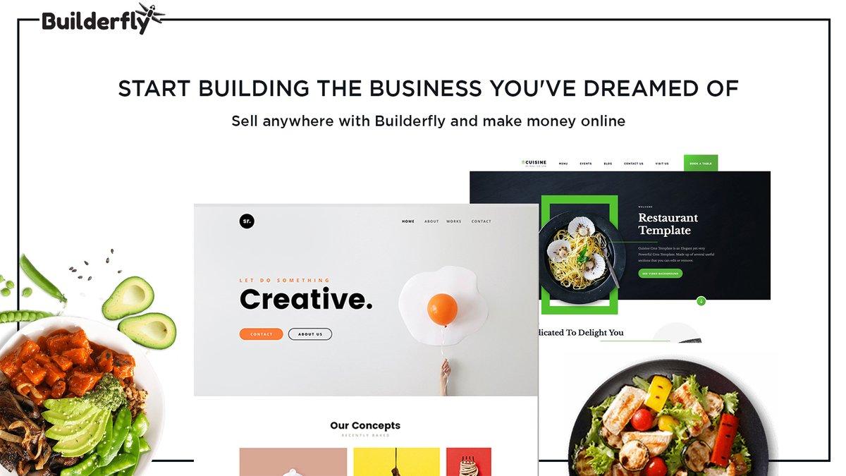 Create Builderfly Store, Start building online store