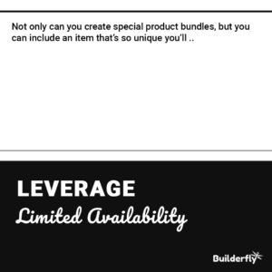 Leverage Limited Availability