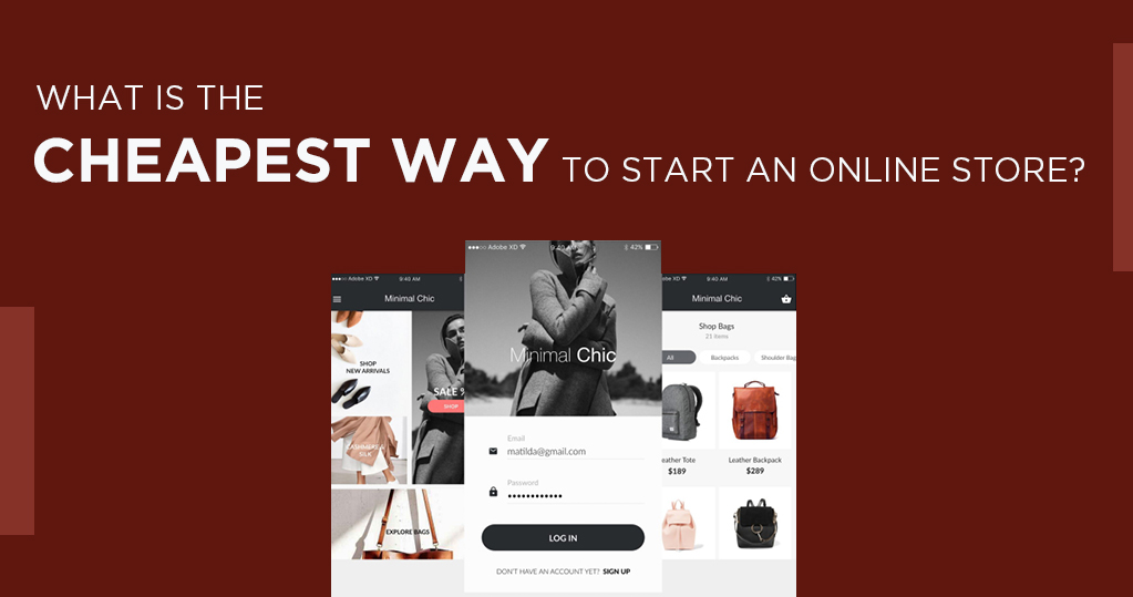 cheapest way to start an online store