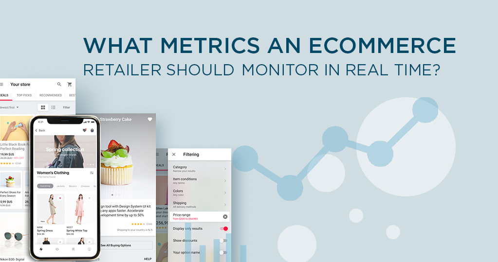 What metrics an ecommerce retailer should monitor in real time