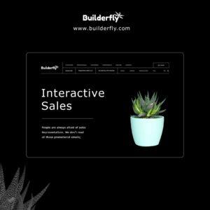 Interactive sales