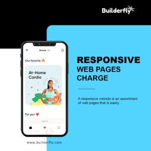Responsive Web Pages Charge