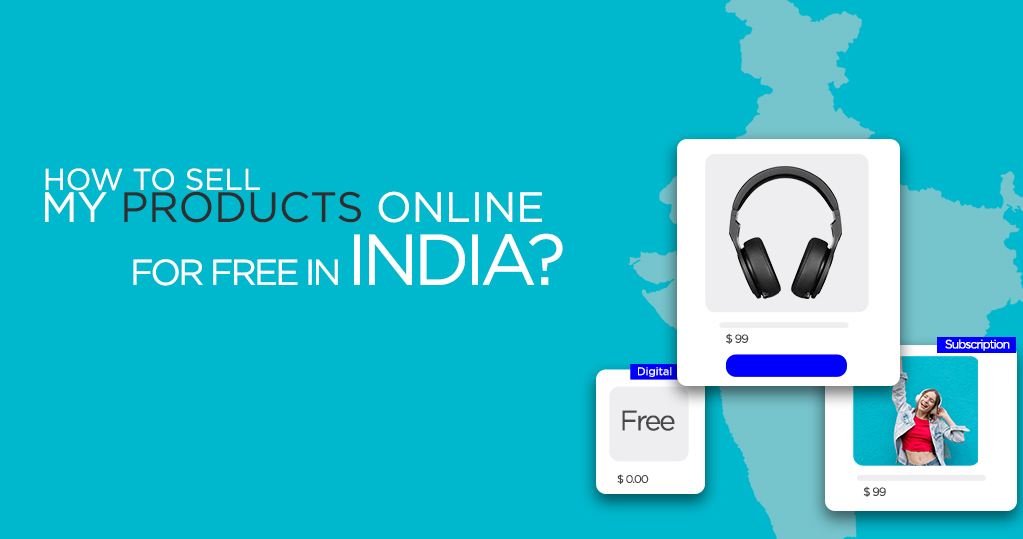 how to sell my product online in india