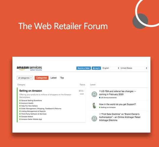 The Web Retailer Forum